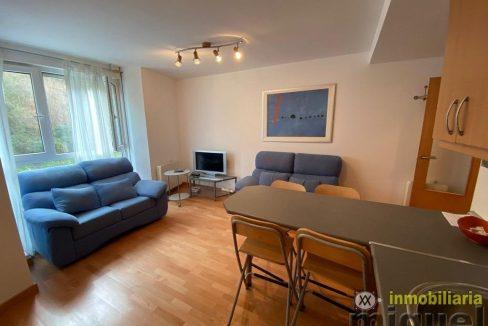 Se vende piso de un dormitorio con terraza en Val de San Vicente
